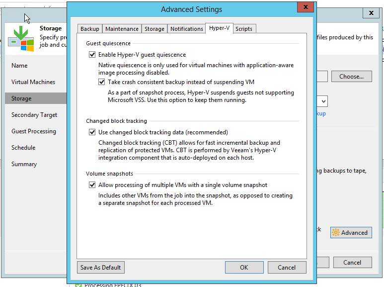 VEEAM TROUBLESHOOTING TIPS – ERROR CODE 32768 FAILED TO CREATE VM