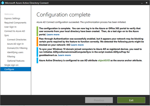 Migrate Exchange Services from On-premises to Office 365