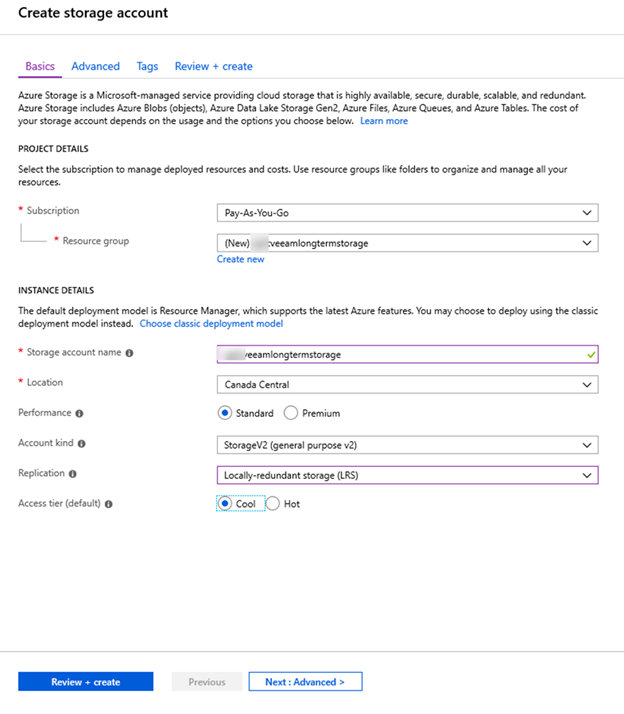 Step by Step to use Veeam archive on-premises data to Azure