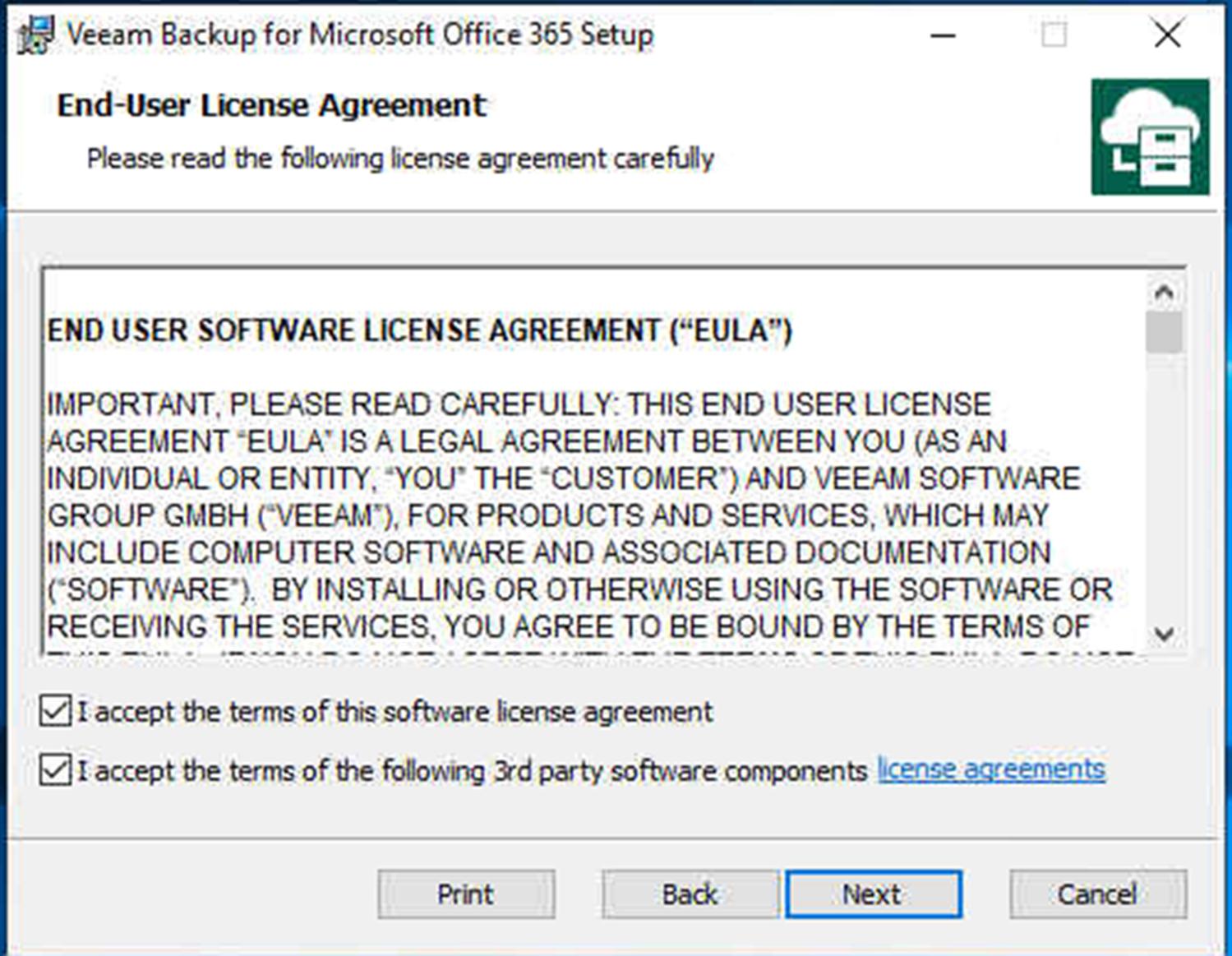 How to Install Veeam Backup for Microsoft Office 365 V3