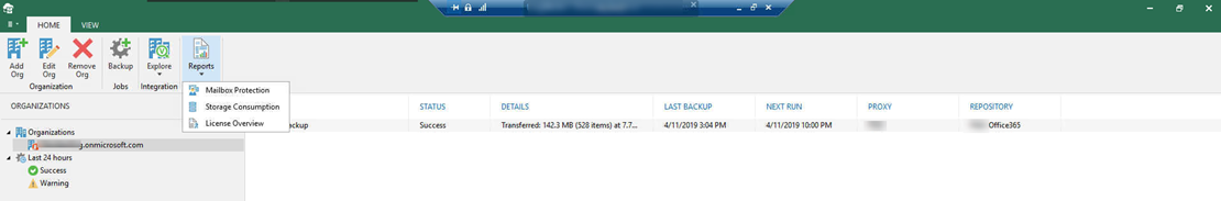 How to Remove Users License from Veeam Backup for Microsoft